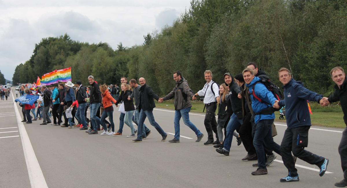 Ramstein 2017 Menschenkette