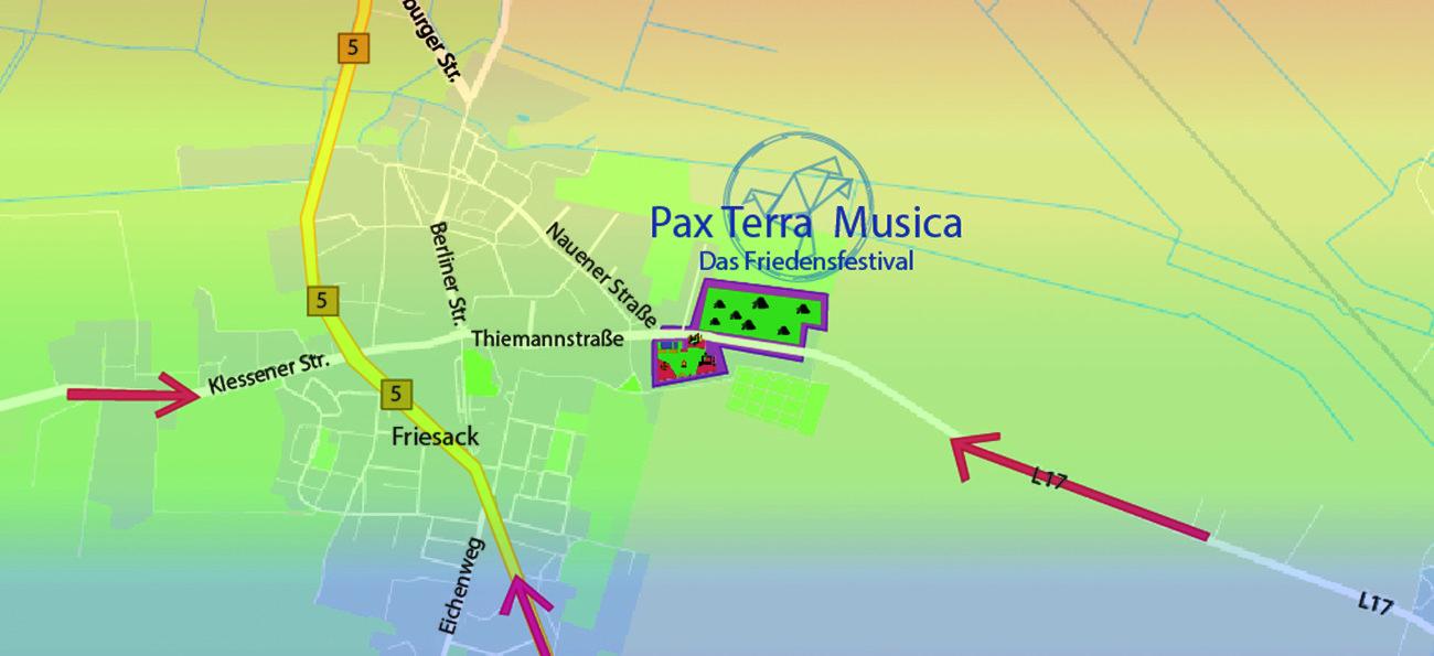 Anfahrtsplan Pax Terra Musica