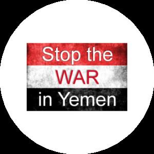 Stop War in Yemen Pax Terra Musica Ausstellung für Frieden und Aufklaerung