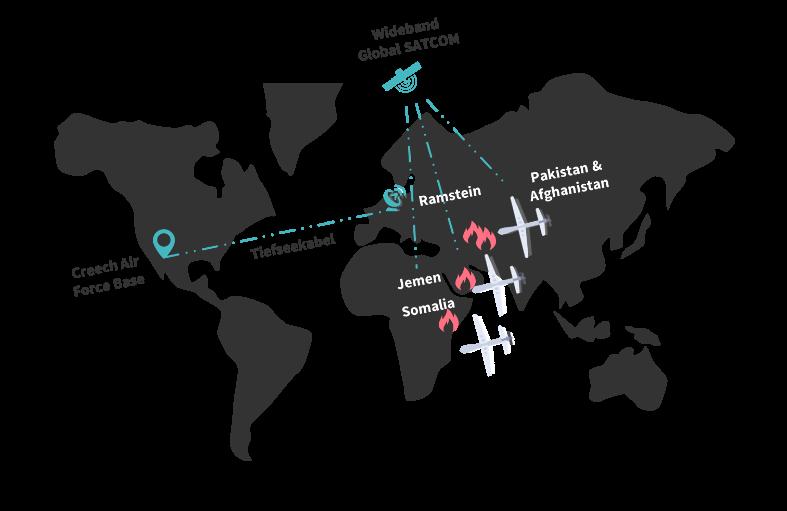Ramstein-Relaisstation-Drohnen-Karte